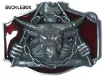 Minotaur Labyrinth Greek Mythology Belt Buckle + display stand. Code BE8